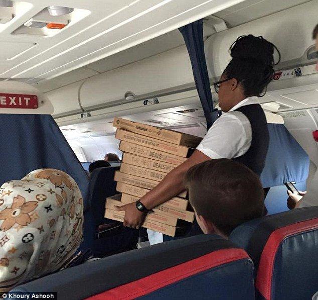 مشتری مداری در هواپیما